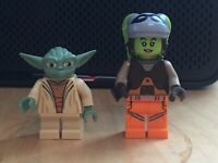 Lego Hera Syndulla sw0576 75127 Star Wars Rebels Yoda sw0219 Clone Wars