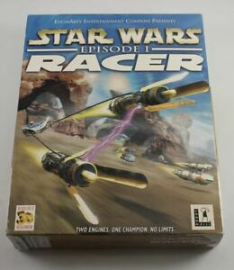 Star Wars Episode I Racer Big Box (PC CD)