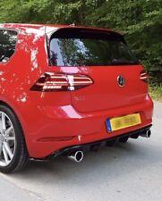 Facelift Golf 7Gti Difusor Faldón Trasero VW Alerón (VII) 7,5