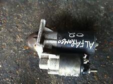 ALFA ROMEO 147 STARTER MOTOR TWIN SPARK 147 SELESPEED 2.0 PETROL 2002