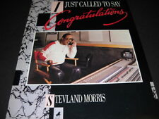 STEVIE WONDER Stevland Morris just called to say he loves you 1984 PROMO AD mint