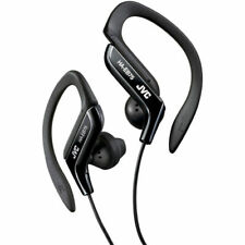 BRAND NEW JVC HAEB75B Sports Ear Clip Earphones with Adjustable Clip Black