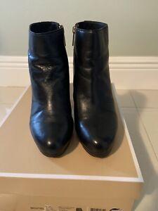 Michael Kors 'Sammy' Platform Bootie Size 7 Black