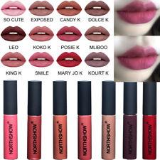 Wasserfest Lipgloss Lippenstift Lipstick Matte Long Lasting Farben
