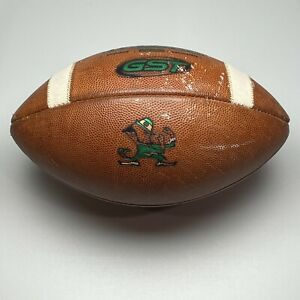 2014 Notre Dame Fighting Irish Game Issued Wilson GST NCAA Football - University