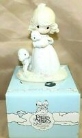 """PRECIOUS MOMENTS by Enesco 1984 Piece PM-851 Collectible 6"""" Porcelain Figurine"""