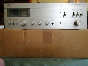 PHILIPS AMPLIFICATORE INTEGRATO MOD. 594 Vintage Funzionante