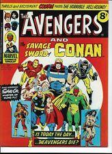 MARVEL AVENGERS and CONAN COMIC #99, 1975 - BRITISH EDITION