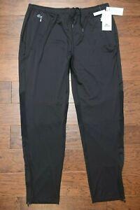 Lacoste Sport Men's Performance Ultra Dry Stretch Black Track Pants 4XL EU 9