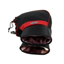 Winter Cycling Bicycle Handlebar Motorcycle Gloves Waterproof Warm Leather Muffs