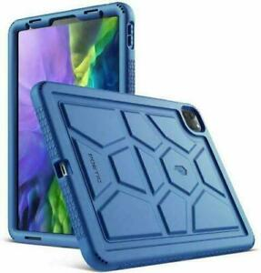 For iPad Pro 11 2021/2020/2018 Tablet Case Heavy Duty Shockproof Silicone Cover