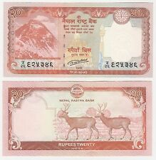 Nepal 20 RUPEES 2016 P-New2 UNC FIOR Monte Everest BANCONOTA