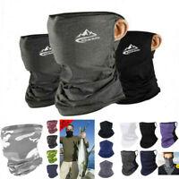 Outdoor Breathable Headwear Balaclava Neck Gaiter Tube Bandana Scarf Face Cover