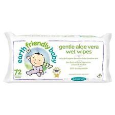 Earth Friendly Baby Gentle Aloe Vera Wet Wipes - 72 Pack