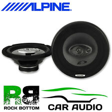 VW T5.1 Transporter 10-16 ALPINE 20cm 3 Way 560 Watt Front Door Car Speakers Kit