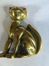 Brass ornament classic Alice in Wonderland - CHESHIRE CAT