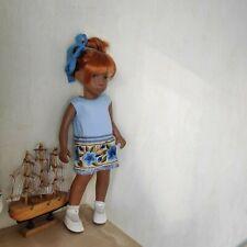 Dream dress blue shades for Sasha Morgenthaler doll