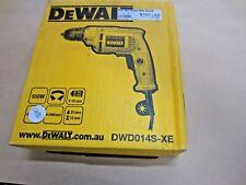 DEWALT 10MM 550W COMPACT KEYLESS CHUCK DRILL DWD014S-XE ~ BRAND NEW IN BOX
