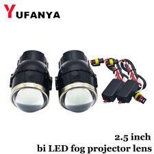 2.5'' Bi LED Fog Projector Lens Hi/Lo Beam Universal Fog Light For Toyota/Honda