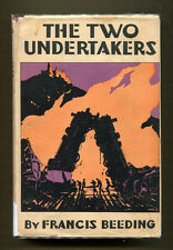 THE TWO UNDERTAKERS by Francis Beeding - 1933 1st American Edition in DJ
