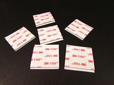 """6 pcs. 3M 4926 VHB Foam Double Sided Grey Tape 1-1/2"""" x 1-1/2"""" U59"""