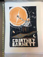 COURTNEY BARNETT Original Numbered Signed Nelsonville June 2016 Concert Poster