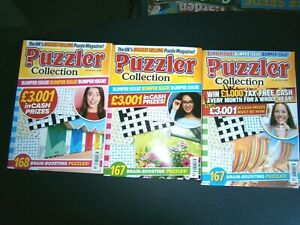 3 Puzzler Collection Puzzle Books  2021 (new) Issues, 438,439,440