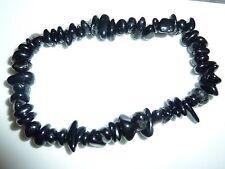 Bracelet TOURMALINE NOIRE perles 6-10mm . Litho-Reiki