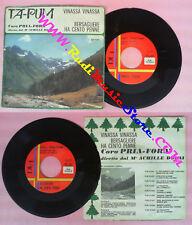 LP 45 7'' PRIA-FORA' Vinassa vinassa Bersagliere ha cento penne no cd mc dvd