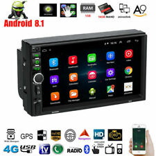 Android 8.1 7inch 2DIN Car GPS Navigation MP5 Player Touch FM Stereo Radio HD
