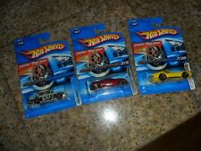 3 LOT Hot Wheels Faster Than Ever '69 Corvette ZL1 & FORD ANGLIA & CADILLAC FTE