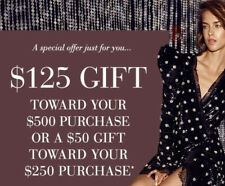 SAKS coupon $125 off $500 ,$50 off $250 INCLUDEDBEAUTY  INSTANT Email DELIVERY