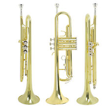 LADE Brass Trumpet BFlat for Beginner Free Shipping Musical Instruments WARRANTY