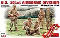 Miniart 35089 U.S. 101st Airborne Division Normandy 1944, Plastic Model Kit 1/35