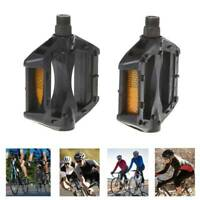 Bicycle BikePedals Reflective Plastic Cycling Anti Slip Mountain Road  Universal