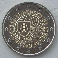 2 Euro Slowakei 2016 Ratspräsidentschaft unz.