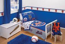 New York Mets 4-Piece Toddler Bedding Set