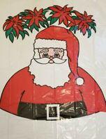 Sun Hill Santa Flower Jumbo Christmas Toy Bag Plastic Vintage 1990 Canada