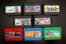Famicom FC 8 Bandai games lot Magical Taluluto Fantastic/ GeGeGe no Kitaro1 2