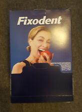 20 x Fixodent Denture Adhesive Mini Travel Packs Size 10g Samples - Sealed Box