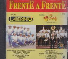 Grupo Laberinto Y Banda La Costeña Frente A Frente New Nuevo Sealed