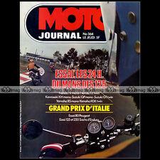 MOTO JOURNAL N°364 PEUGEOT SX8 T HONDA CB 125 N T2 KAWASAKI KH YAMAHA RS DX 1978