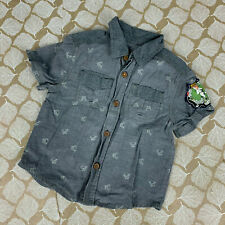 Where The Wild Things Are by Target Boy 18 Mo Max Chambray Button Front Shirt