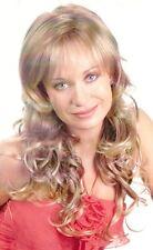 Long Wavy Blond Hair Wig w/Bangs - Dareen Hairdo Piece
