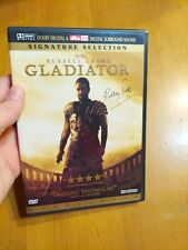 Gladiator Signature Selection Widescreen Dvd Movie Russell Crowe