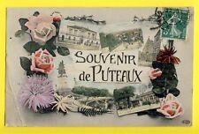 cpa 92 - SOUVENIR de PUTEAUX (Hauts de Seine) Gruss Aus