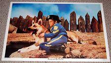 RUSTY & RIN TIN TIN Poster 1976 Dargis 3408 HB Leonard Films German Shepherd