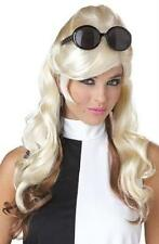 Long Blonde and Brown Mixed 60's Bump Wig