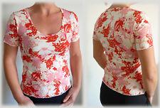 haut top t-shirt imprimé rouge rose mode fashion tendance COM9