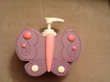 Tiddliwinks Flowers Lotion Pump purple butterfly Nwt girlie